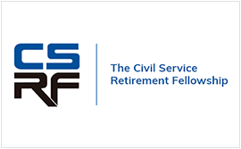 The Civil Service Retirement Fellowship (CSRF) logo