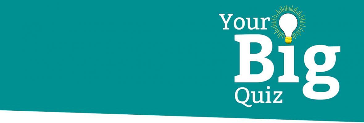 Your Big Quiz Logo with lightbulb