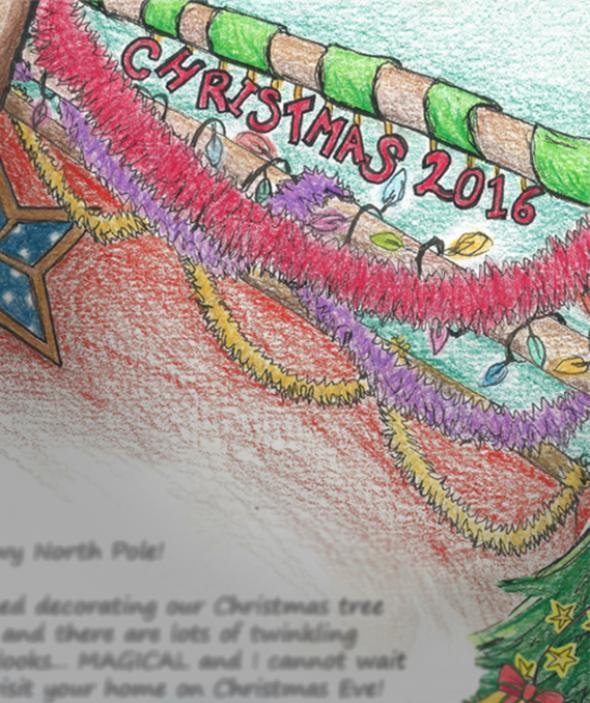 Santa Letter Sneak Peek