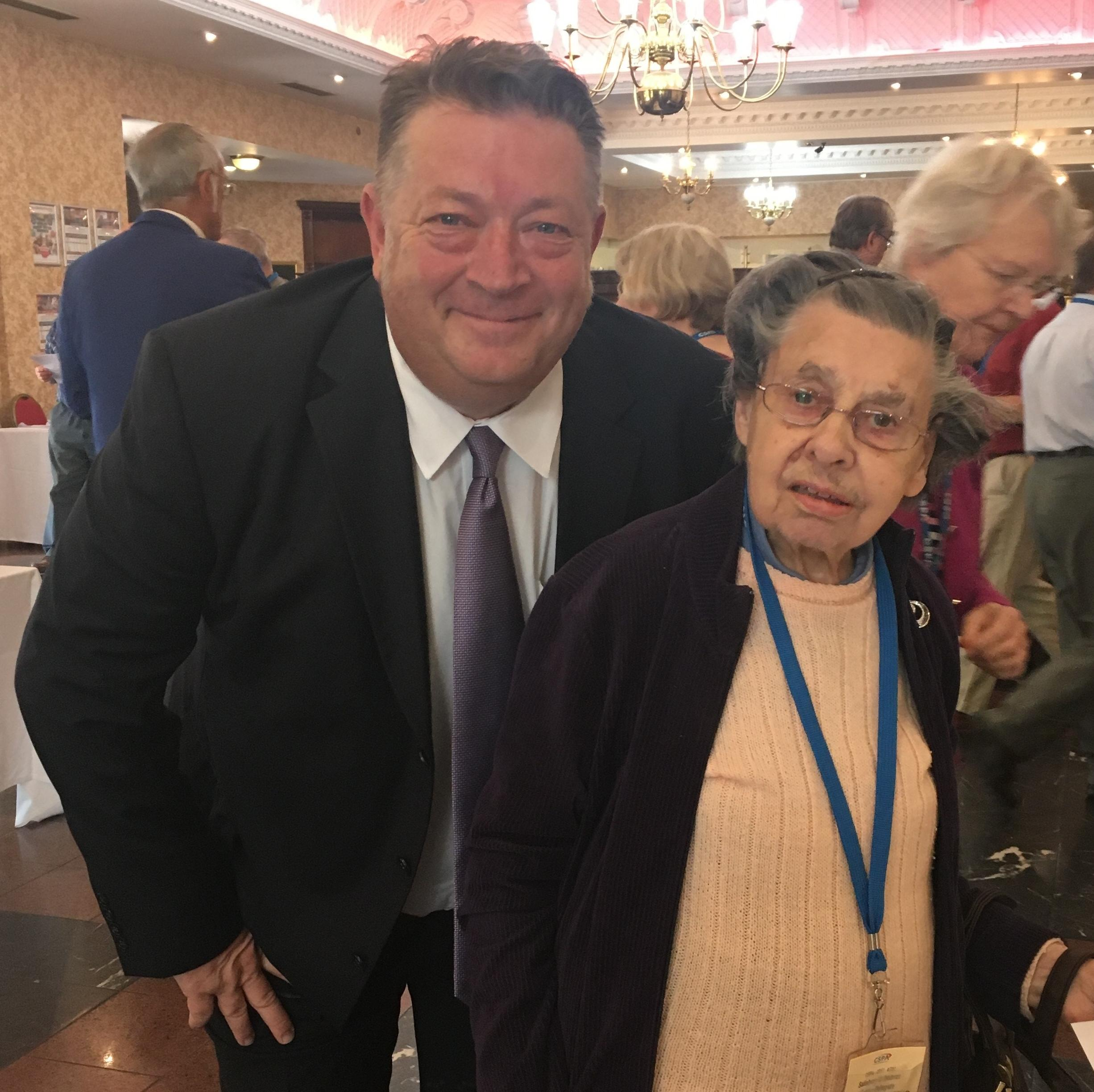 June with our Chief Executive Graham