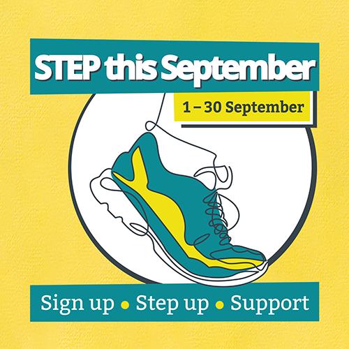 STEP This September logo