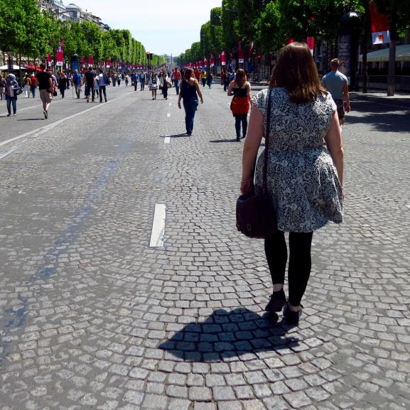 Paris walking