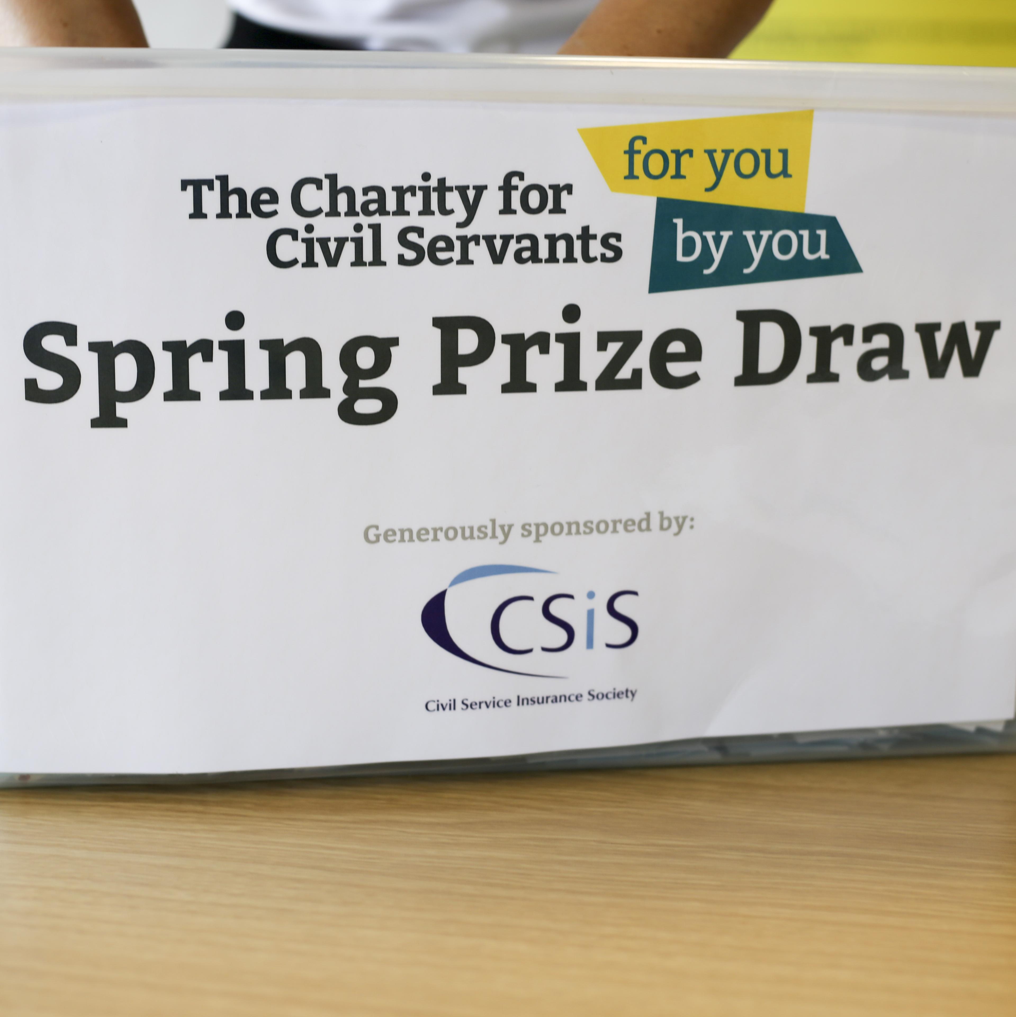 Spring Prize Draw