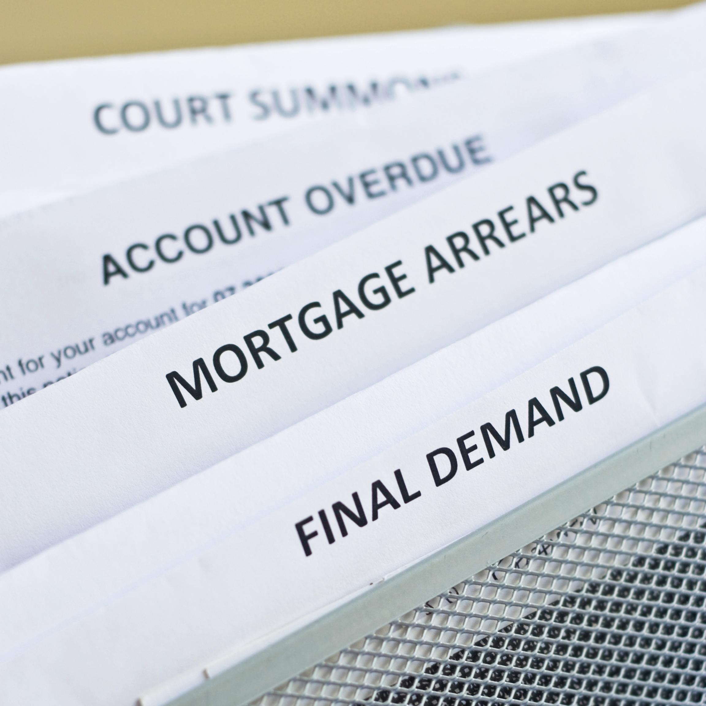 Mortgage Arrears, Final Demands Letter