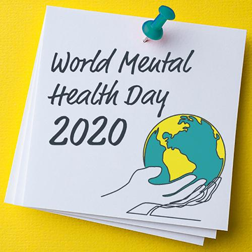 World Mental Health Day 2020 blog tile