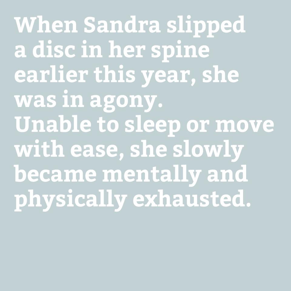 Sandra, DWP